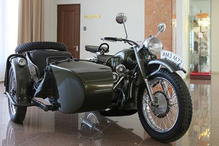 М-72 в музее