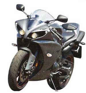 мотоцикл Yamaha R 1