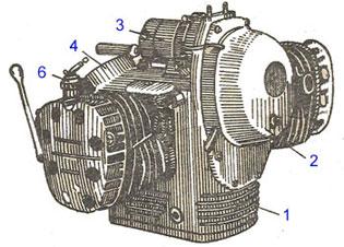 Двигатель мотоцикла К 750