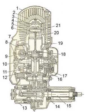 Двигатель мотороллера Вятка ВП-150