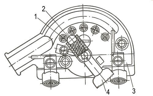Центральный переключатель мотороллера Вятка ВП-150
