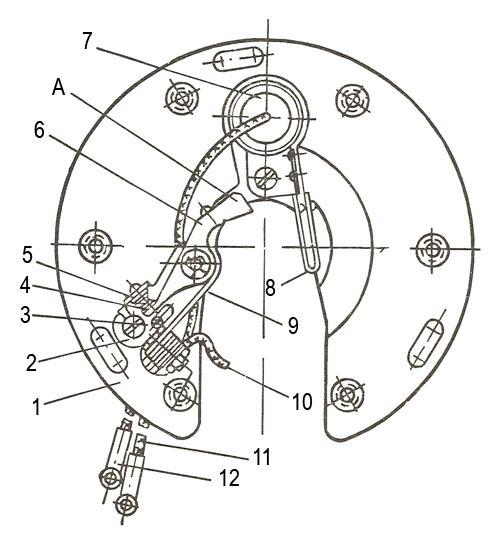 Прерыватель мотороллера Вятка ВП-150