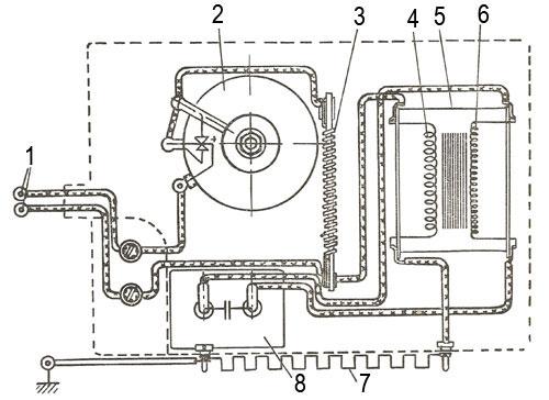 Стабилизатор напряжения мотороллера Вятка ВП-150