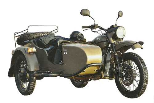 Мотоциклы Урал. Измененный мотоцикл Урал выпуск 2014 года.