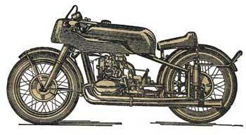 Спортивный мотоцикл М-52С