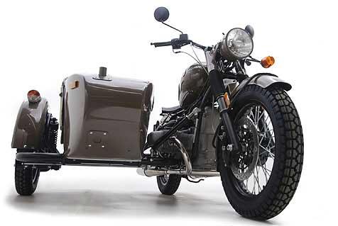 Мотоцикл Урал М70 Ретро