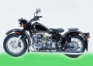 Мотоцикл Урал Соло ретро